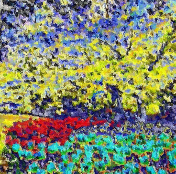The garden nr 7 - Rene art