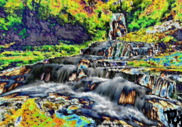 Waterfall nr 10 - Rene art