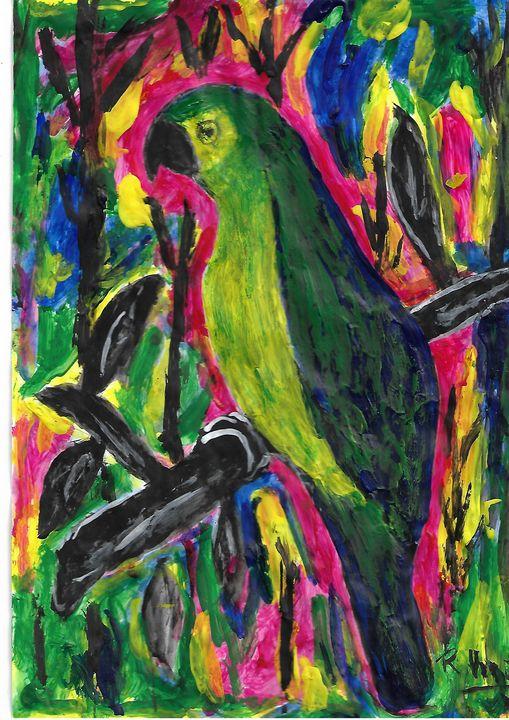 parrot - Rene art