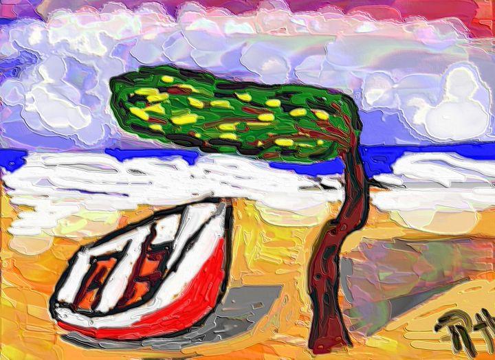 Dividivi tree nr9 - Rene art
