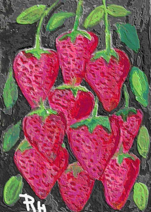 Strawberries - Rene art