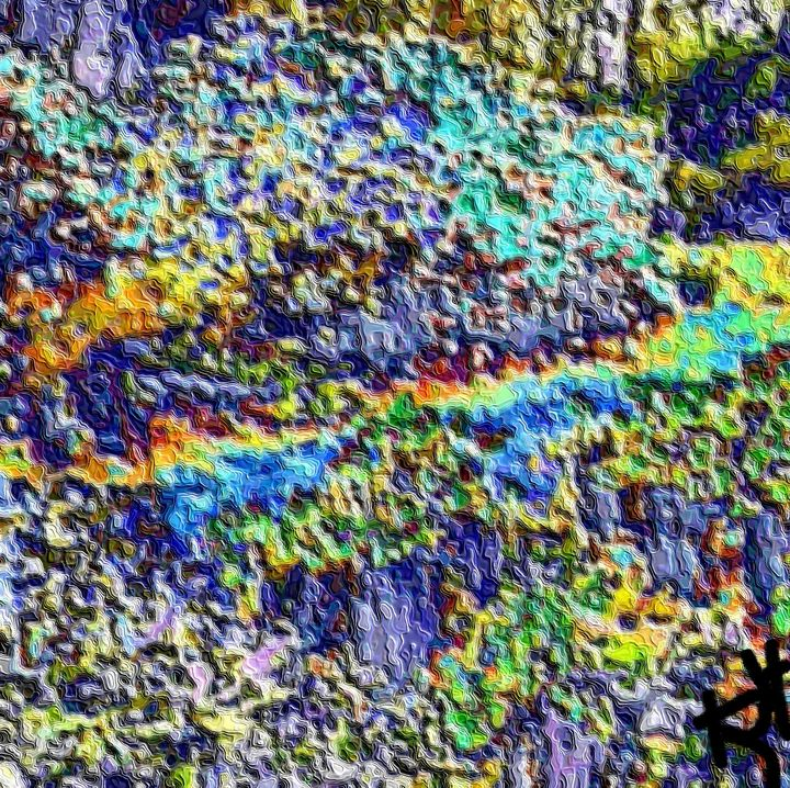 Abstract landscape nr 9 - Rene art