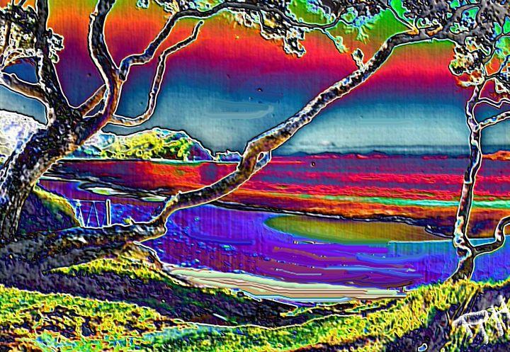 Caribean sunset nr10 - Rene art