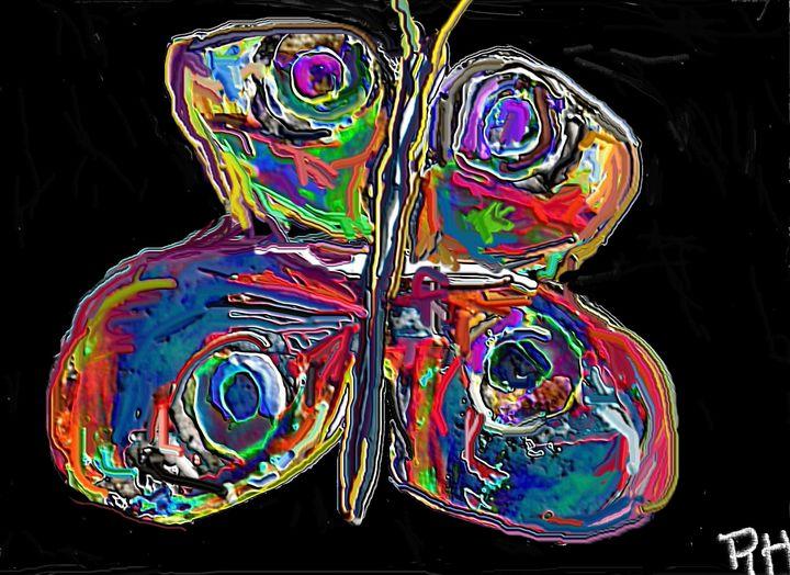 Night butterfly - Rene art