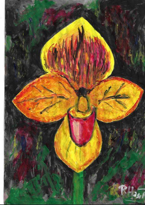 Colombian orchid - Rene art