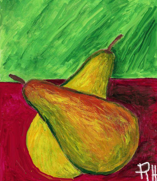 Two pears - Rene art