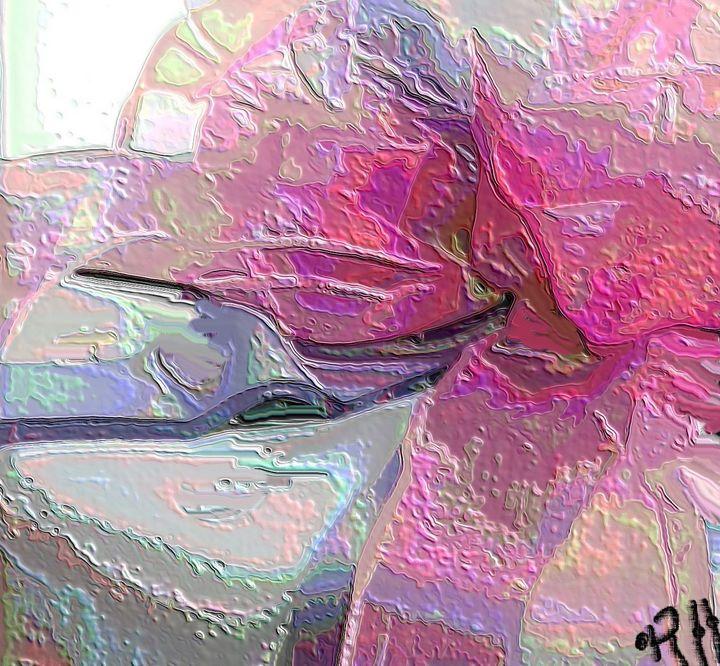 Pink ribbon - Rene art