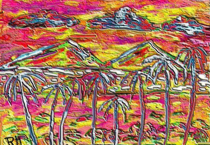 Coconut lake - Rene art