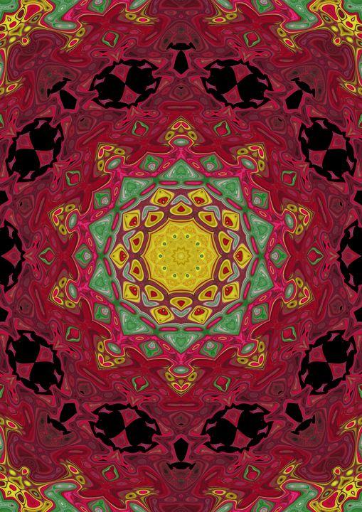 Healing mandala - Rene art