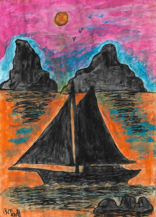 Sailing - Rene art