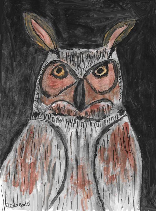 Owl - Rene art