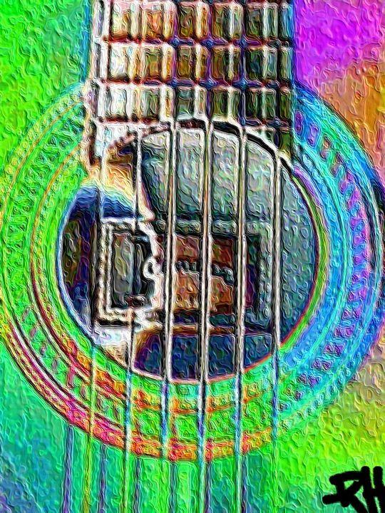 Guitar strings - Rene art