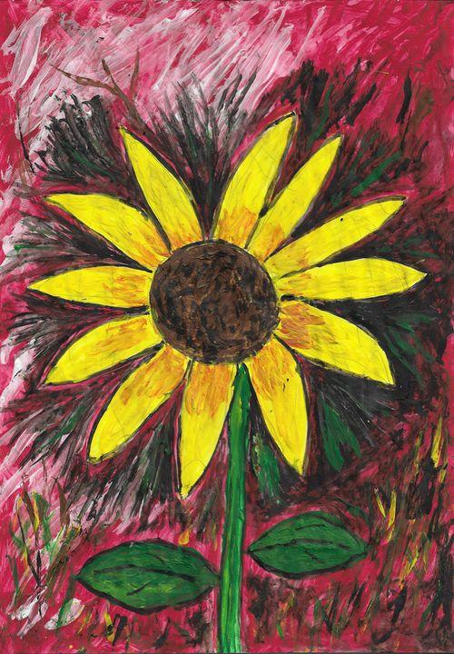 Sun flower - Rene art