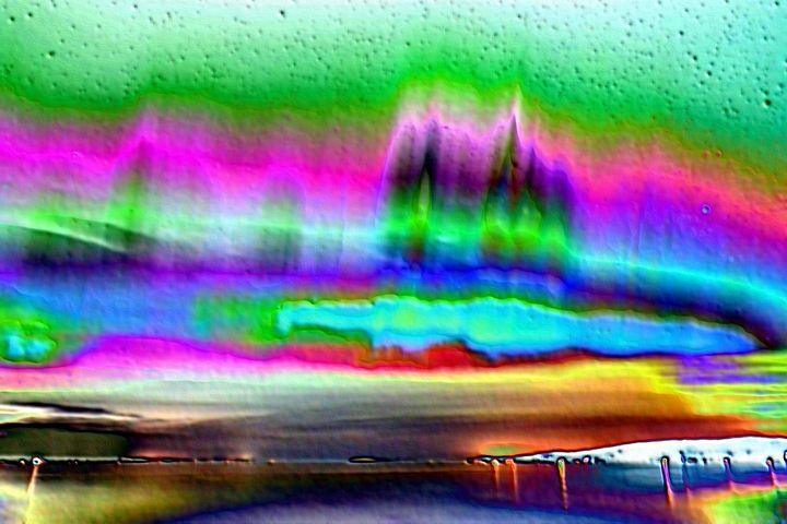 Aurora in iceland - Rene art