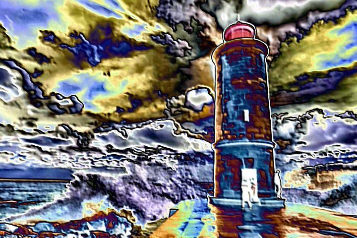 Lighthouse nr 9 - Rene art