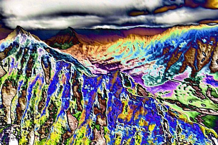 Rocky mountains - Rene art