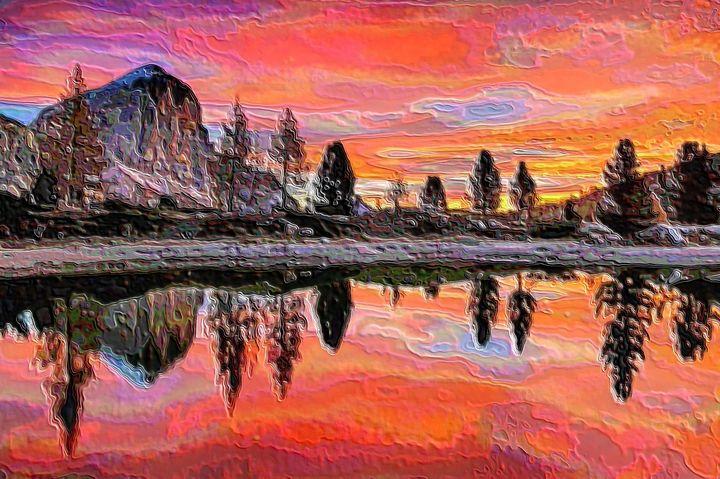Miaggore lake - Rene art