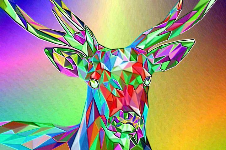 Deer - Rene art
