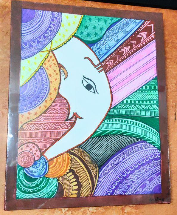 GaneshA - Free hand creations
