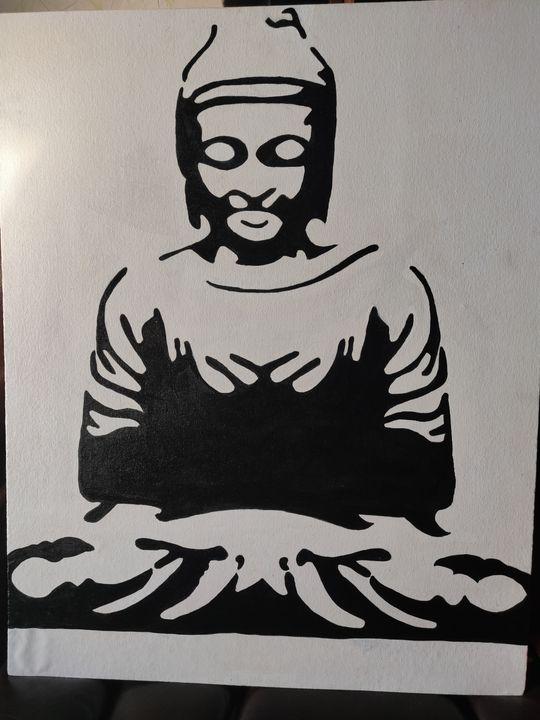 Buddhha - Free hand creations