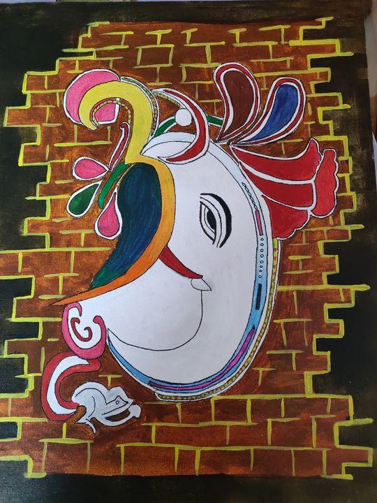 Ganeshaa - Free hand creations
