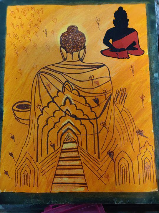 Buddha - Free hand creations