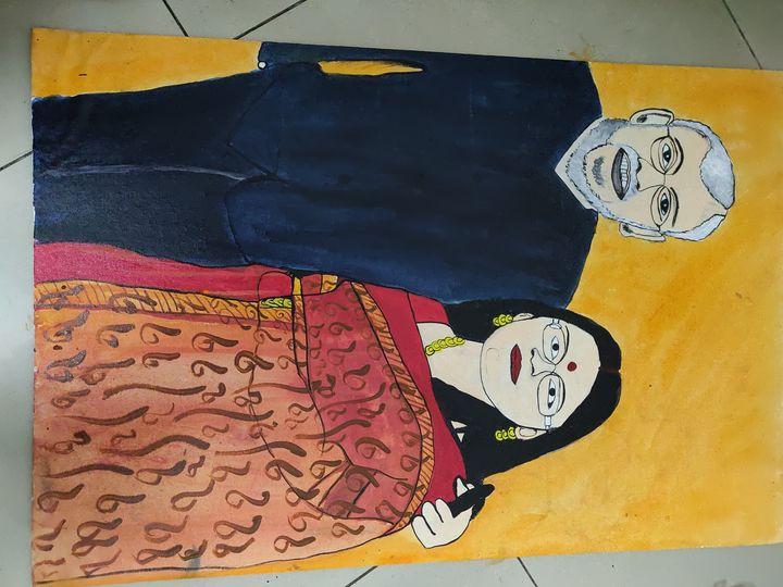 Portrait - Free hand creations