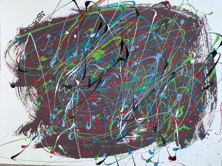 Green lines - DZ Art Store