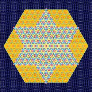 mystical geometric star - Art divinity