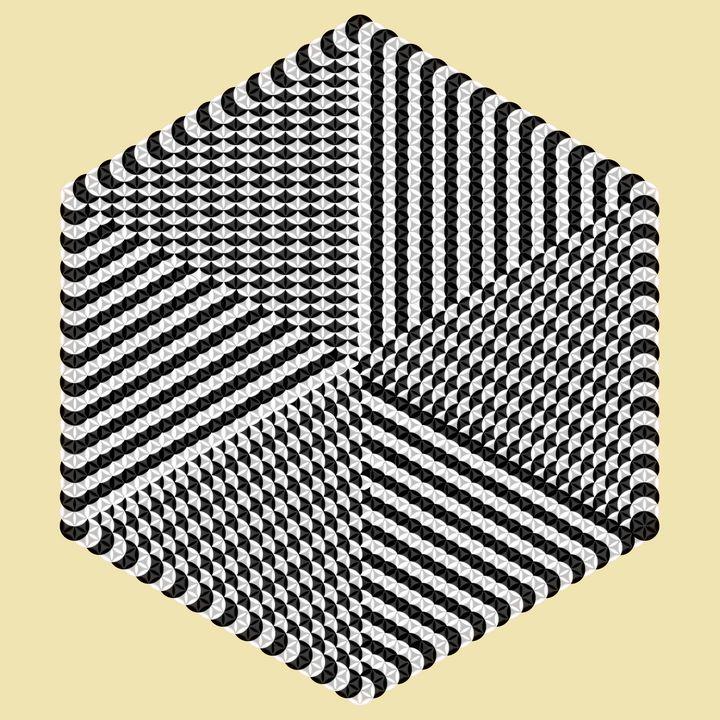 Hypnotic geometry - Art divinity