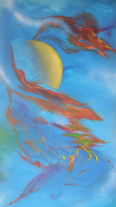dragon spirit - charlesjblantonart