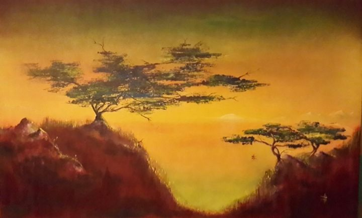 china trees - charlesjblantonart