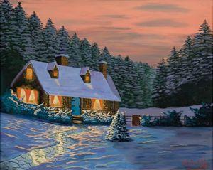 Winter Cottage I