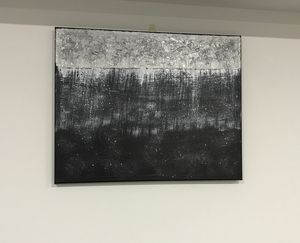 Black and Silver Art - Anam Arts