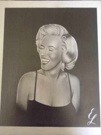 Marilyn Monroe 14x17 portrait - Lunetta Art