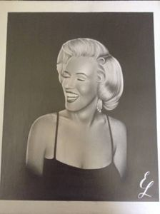 Marilyn Monroe 14x17 portrait