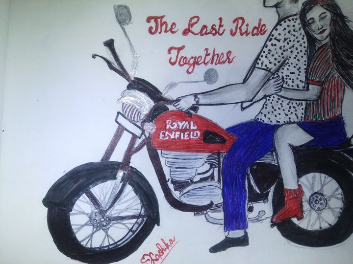 The last ride together - Artistshika gallery