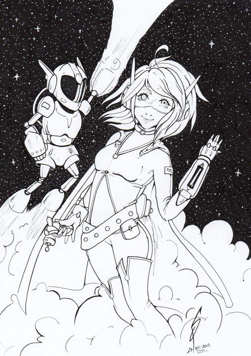 Suzu in the space! - SuzuPuzu