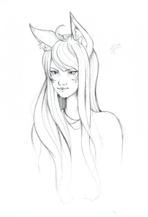 A female fox - SuzuPuzu