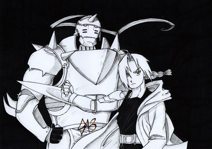 Edward and Alphonse Elric - SuzuPuzu
