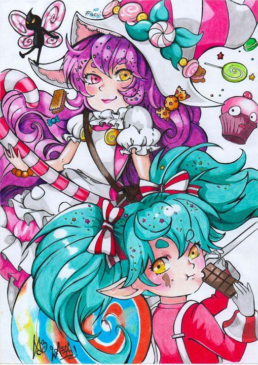 Poppy and Lulu - SuzuPuzu