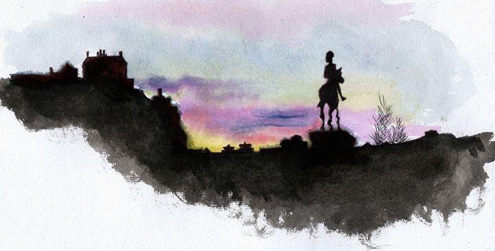 Edinburgh Skyline - Chloë Blackwell