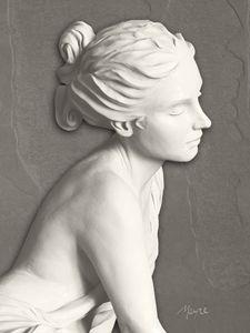 Adamaris (profile right) - Fine Sculpture