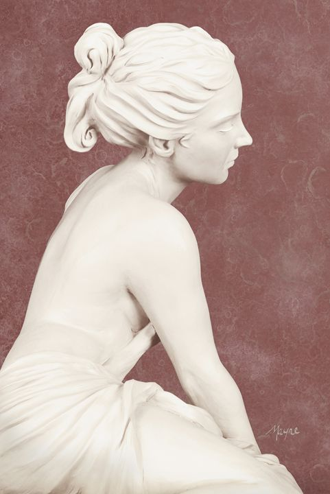 Adamaris (rose) - Fine Sculpture