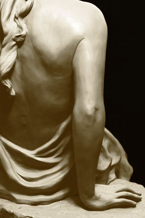 Brenna (back detail) - Fine Sculpture