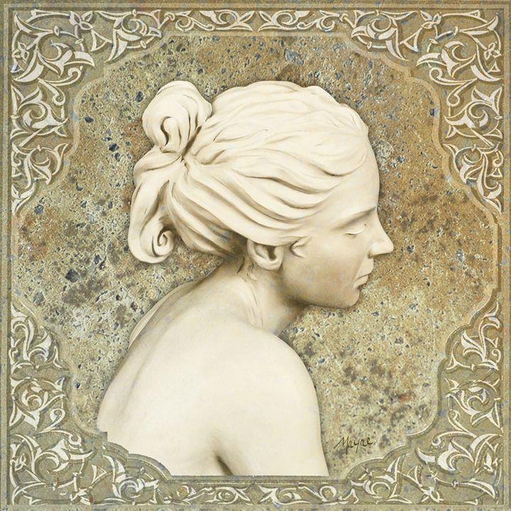 Adamaris (neutral cameo) - Fine Sculpture