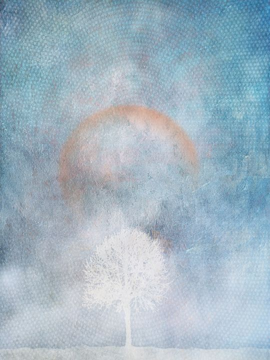 Lonely Tree & Snow Storm - Illustrator01