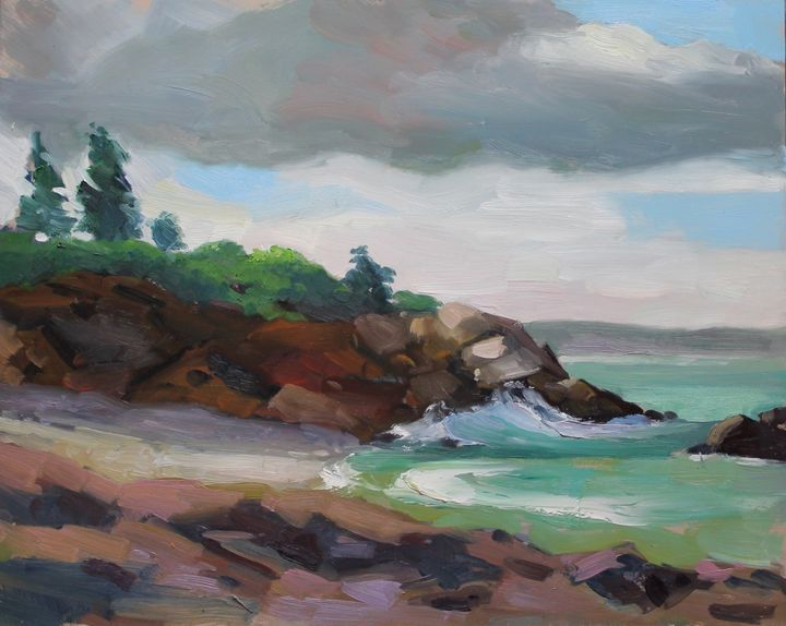 Little Beach, Ogunquit - Garrison Fine Arts