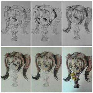 little manga girl