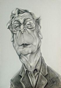 Michael Caine caricature
